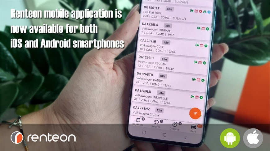 #Renteon Mobile Application