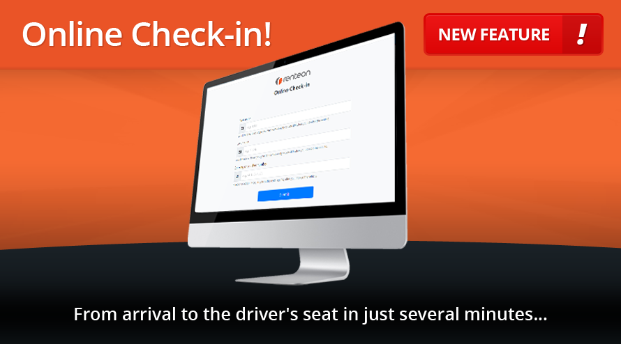 New feature: Online Check-in